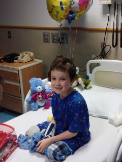 Christopher Court in the hospital